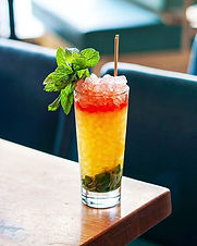 Full of color and flavor, this is a great rum refresher