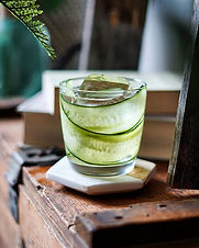 A refreshing combination of cucumber and elderflower