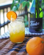 An easy twist on the breakfast mimosa