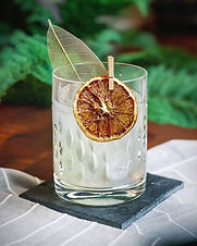 Yuzu is a new ingredient in the drink world. This cocktail is a good introduction.