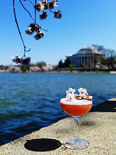 The perfect cocktail for cherry blossom season