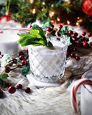 Think Christmas in July or a snowy Margarita