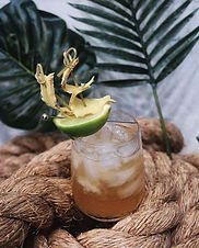 Maple syrup shouldn't work in a tiki drink, but it does
