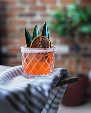 The bitter tiki drink