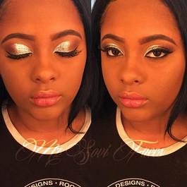 Glitter Glam! #makeupartist #birthdaygla