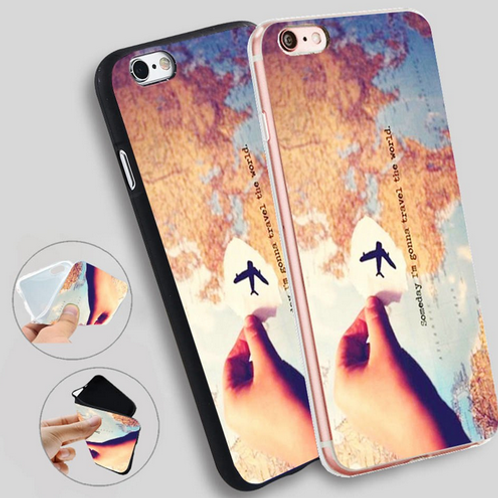 Cover Iphone wanderlust someday I'm gonna to travel the world