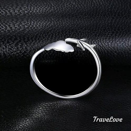 """Anello argento 925 """"sopra le nuvole"""""""