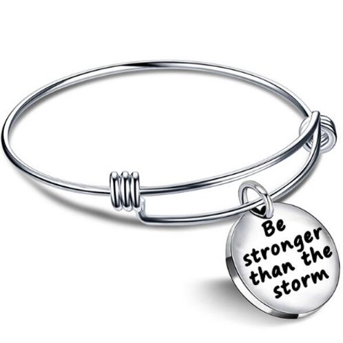 """Bracciale """"Sii più forte della tempesta"""""""