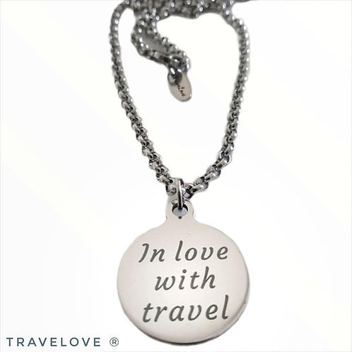 """Collana """"In love with travel"""""""