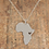 Thumbnail: Collana cuore Africa