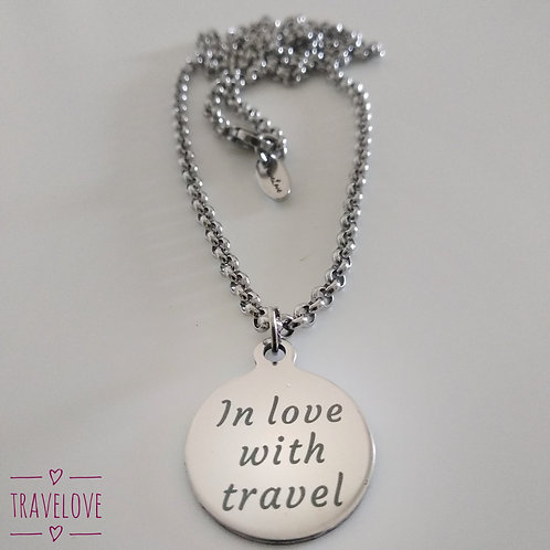 "Collana ""In love with travel"""