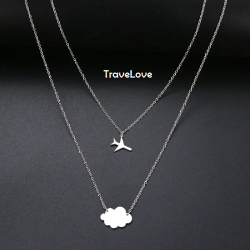 """Collana """"above the clouds"""""""