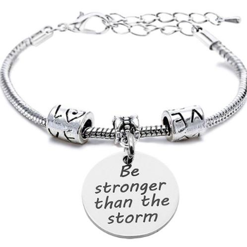 """Bracciale Love """"sii più forte della tempesta"""""""