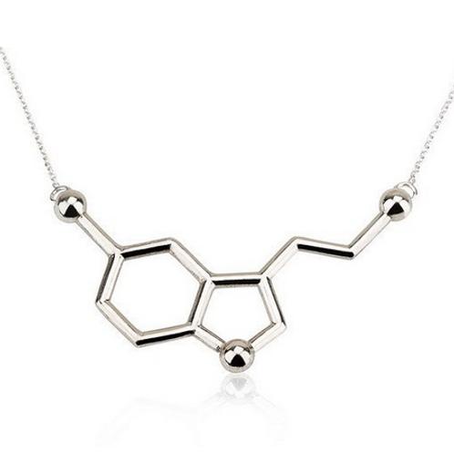 Collana Serotonina molecola felicità