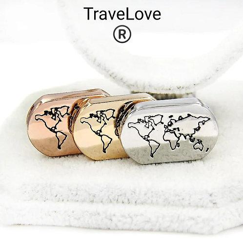 Mappa mondo charms TravelRy