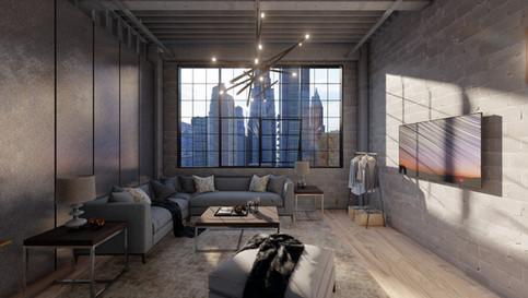 ニューヨークのアパート