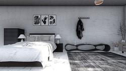 寝室インテリア