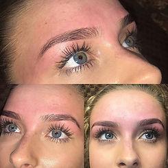 Hd brows _#salon #salonlife #hdbrows #hdstylist #hdbrowstylist #brows #eyebrowsonfleek #eyebrowthrea