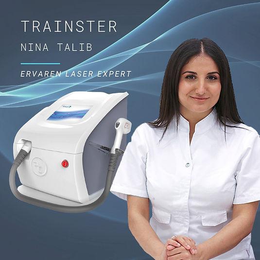Nina Talib, trainster Spark Pro en Magma