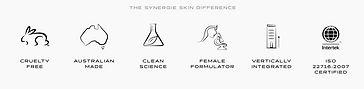 Synergie Skin kernwaarden