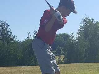 Junior golfer and competition