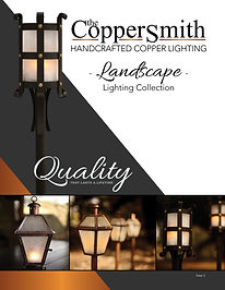 The CopperSmith Landscape Lighting Colle