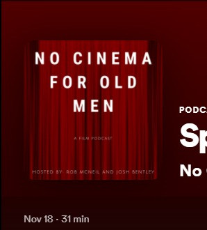 """SUZANNE ETC Appears on Podcast """"NO CINEMA FOR OLD MEN"""" with Rob McNeil"""