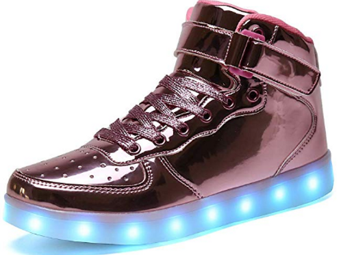 LED Metallic Sneaks