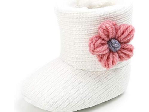 Croche Flower Boot