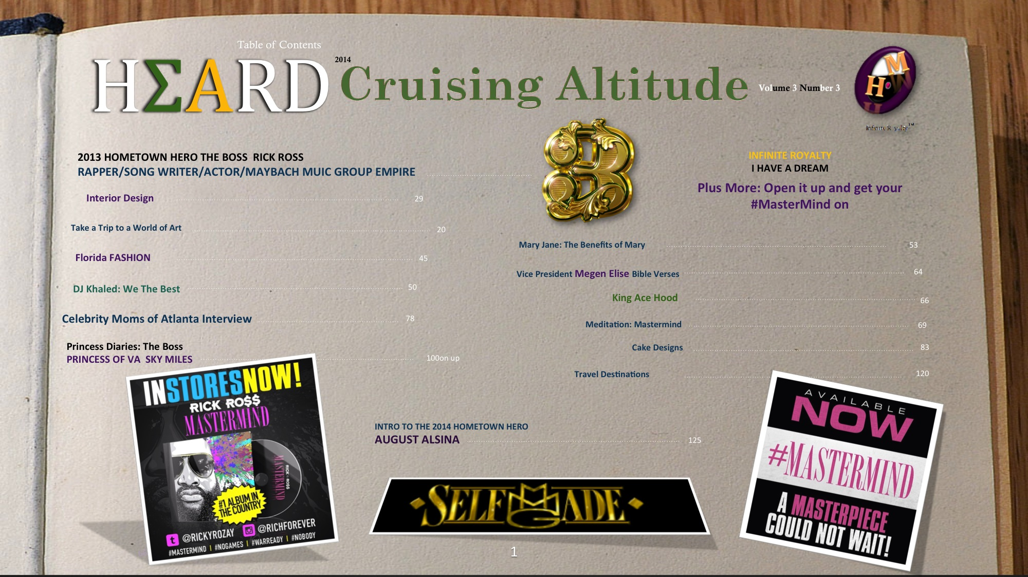 Cruising Altitude #SelfMade Volume 3