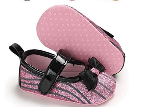 Strap up ballerina shoes