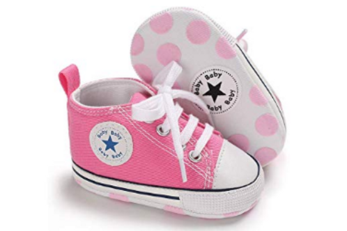 Baby Verse Pink & White