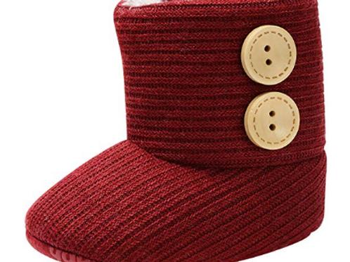 Crochet Button Boot