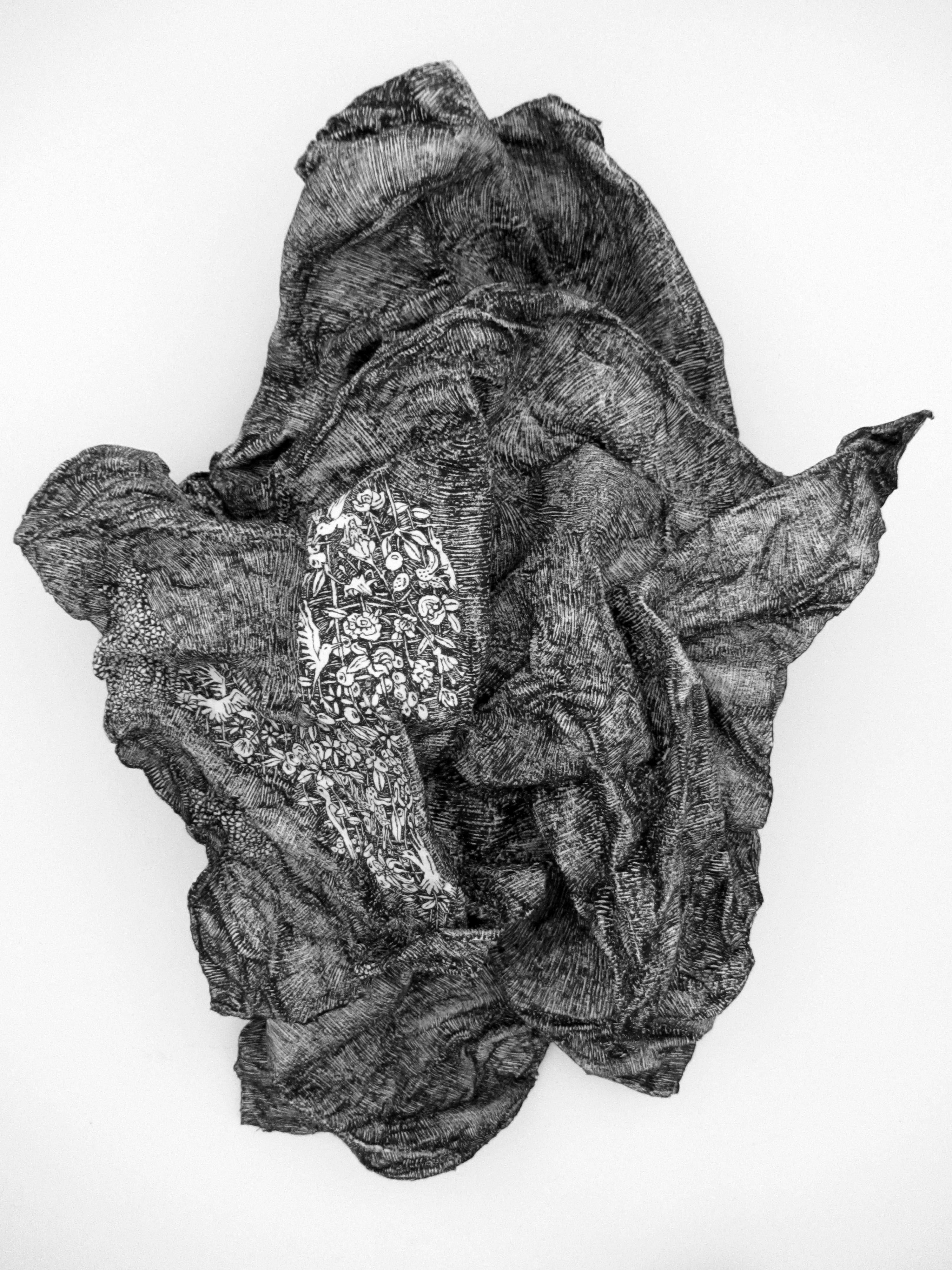 La_pierre_des_tourments N°6 ,46cm x 33cm x 13cm, 2015