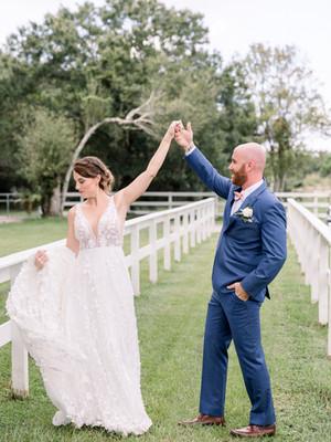 The Barn at Oleander Wedding | Erika + John