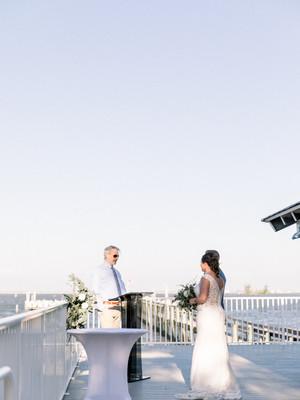 Captain Hiram's Wedding | Lisa + Pete