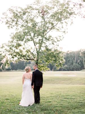 Millstad Center Wedding | Lindsay + Ryan