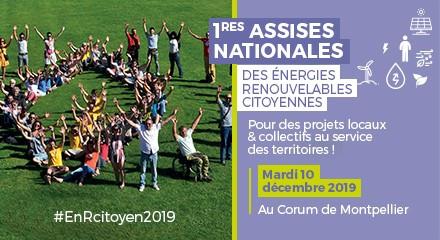 1ères Assises Nationales des Énergies Renouvelables Citoyennes
