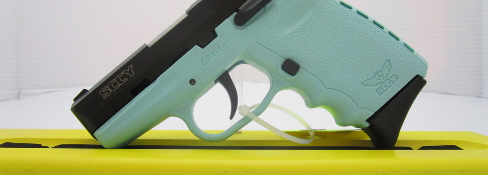 SCCY CPX1 9mm Turquoise