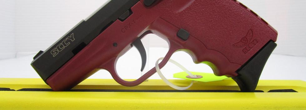 SSCY CPX1 9mm Maroon