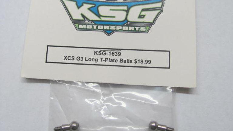 XCS G3 LongT-Plate Balls