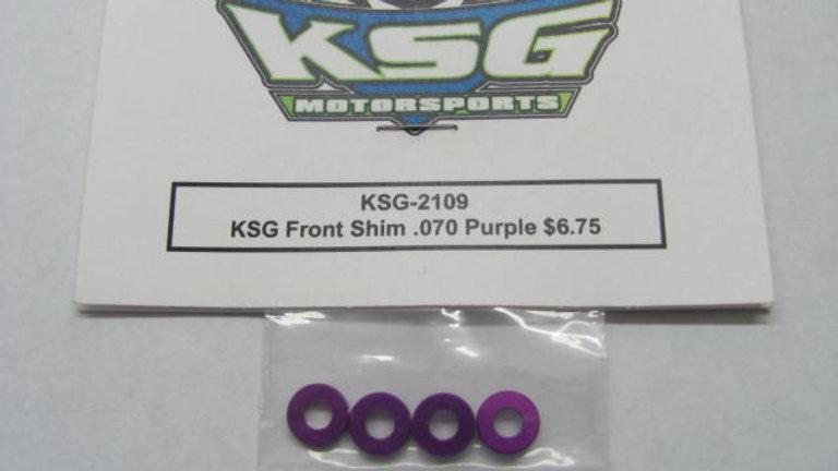 KSG Front Shim .070 Purple