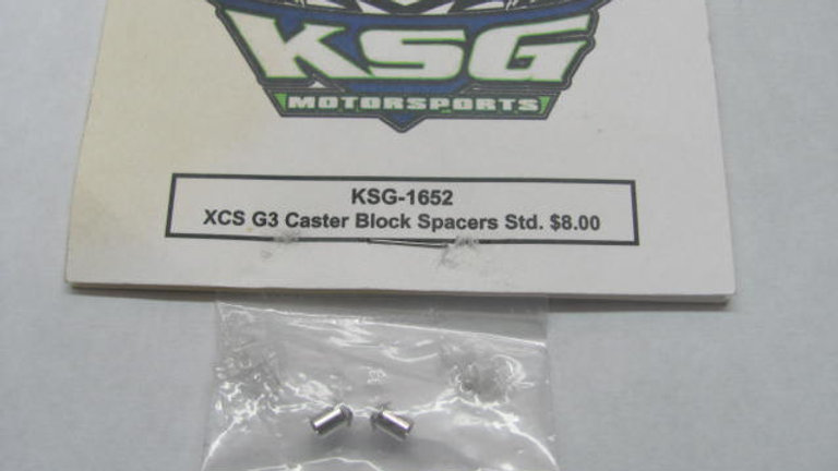 XCS G3 Caster Block Spacers Std.