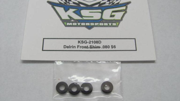Delrin Front Shim .080