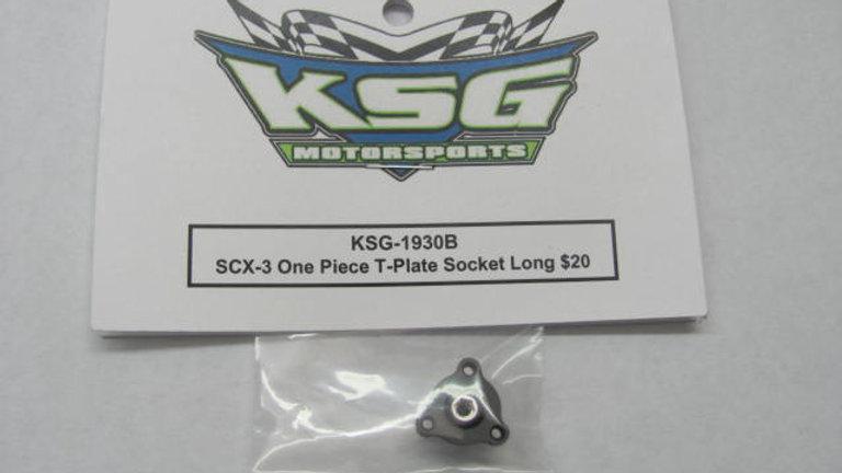 SCX-3 One Piece T-Plate Socket Long
