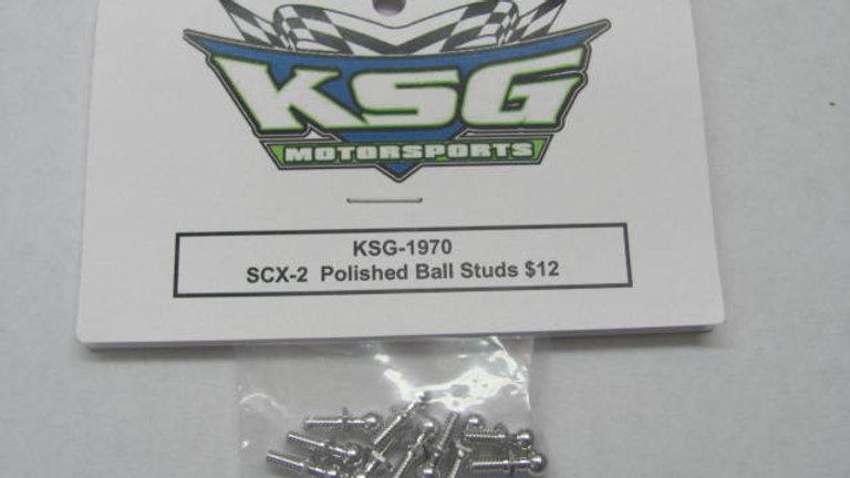 SCX-2 Polished Ball Studs