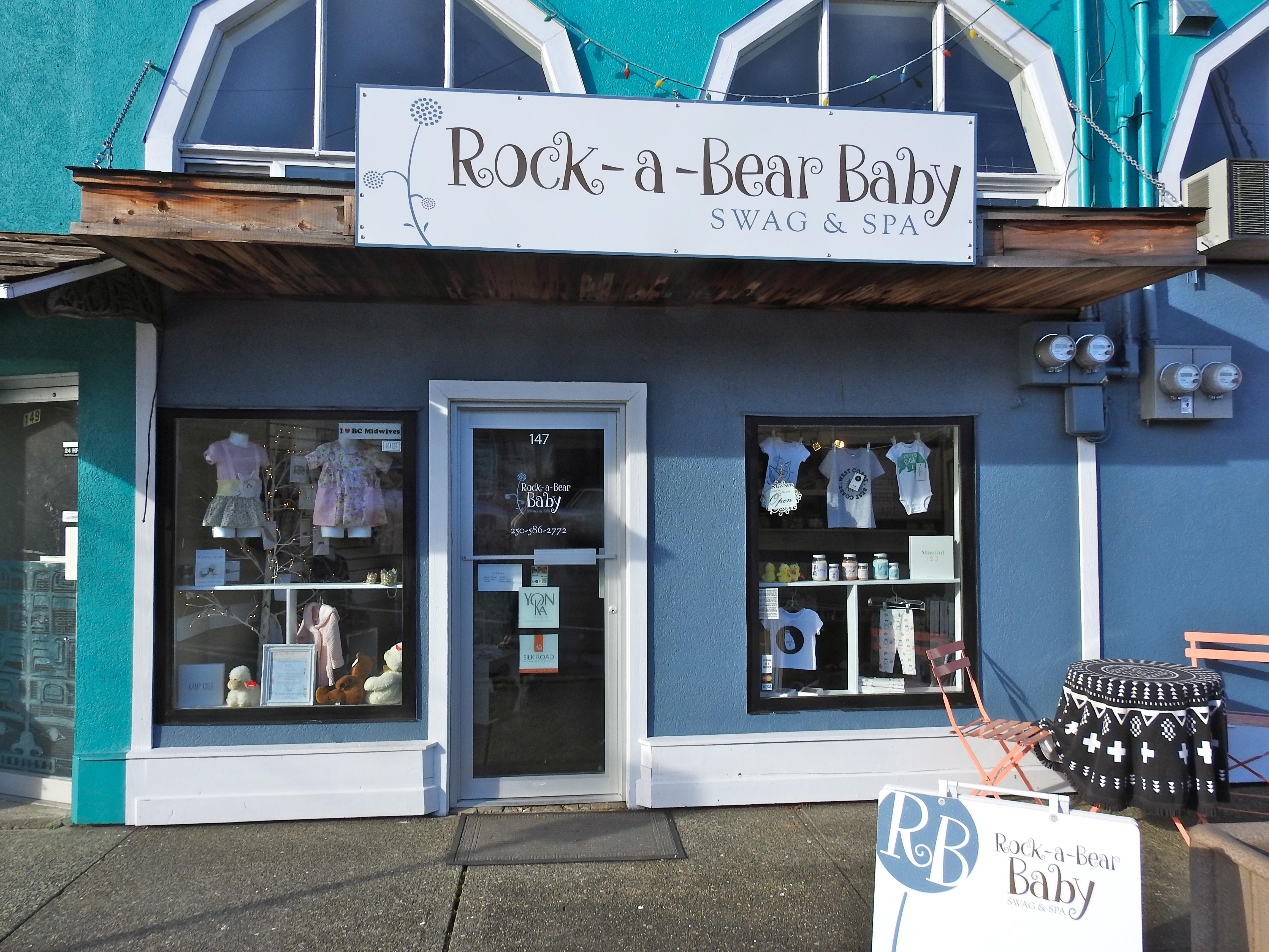 Rock-A-Bear Baby Swag & Spa