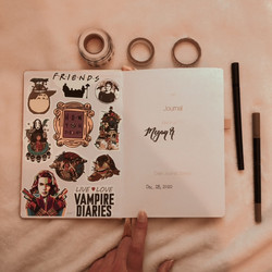 Title Page Ft. Stickers :)