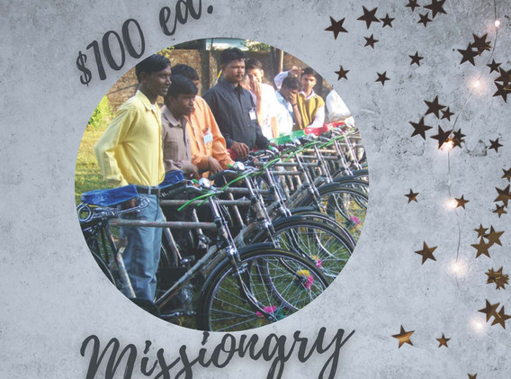 Missionary Bicycle $100 ea.