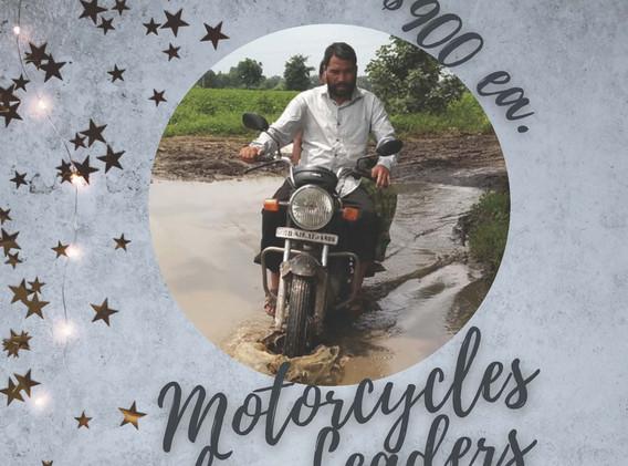 Motorcycles for Leaders $900 ea